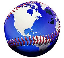 """Baseball """"Best Game In The World"""" -Babe Ruth Photographic Print"""