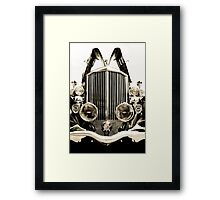 Antique Car - Pierce Arrow Framed Print