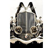 Antique Car - Pierce Arrow Photographic Print