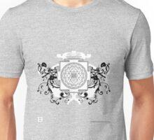 Sri Yantra (Dirty Warble No Werdz) Unisex T-Shirt