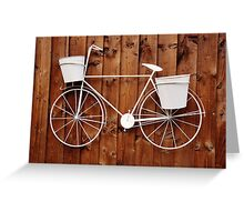 going nowhere Greeting Card
