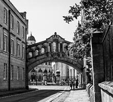 The Bridge of Sighs, Oxford, England by John Hall