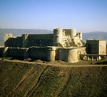 Krak des Chevaliers, most famous Crusader castle by cascoly