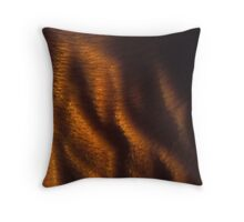 golden hand Throw Pillow