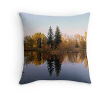 The Leaves of fall Throw Pillow