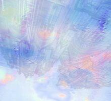 Blue Rain Reflection by Anatoliy