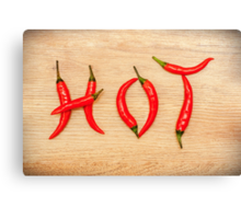Hot Chili Peppers Canvas Print