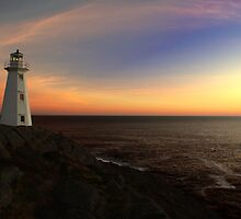 North Atlantic Sunrise by Brian Carey