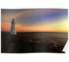North Atlantic Sunrise Poster