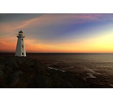 North Atlantic Sunrise Photographic Print