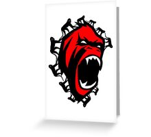 12 Monkeys Greeting Card