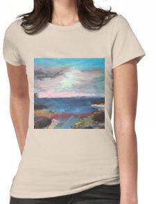 The Seascape Womens Fitted T-Shirt