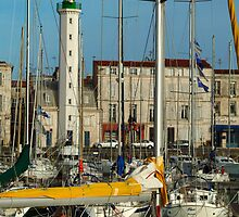 Sailing Vessels at La Roshelle Harbour by Anatoliy