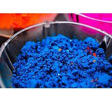 Color Me Blue Photographic Print