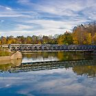 Bridge Over Calm Water by Mike Whitman