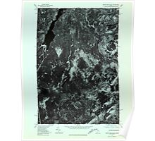 Maine USGS Historical Map Indian Pond South 806779 1977 24000 Poster