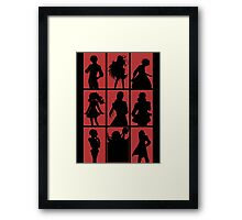 Tales of Xillia 2 - Character Roster (Red) Framed Print