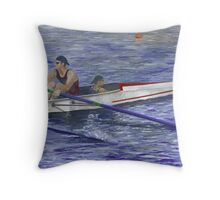 Head of the Charles Throw Pillow