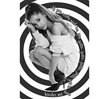 Love Me Harder Photographic Print