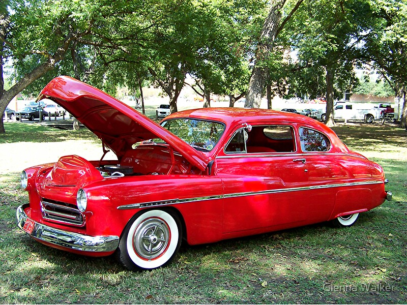 1950 mercury 2 door coupe by glenna walker redbubble for 1950 mercury 2 door coupe