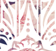 Floral Hamsa Sticker