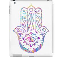 Rainbow Swirl Hamsa iPad Case/Skin