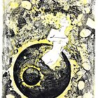 Birth Monoprints 1 by Stephen Haning