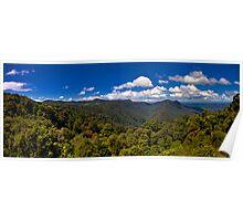 Dorrigo Panorama Poster