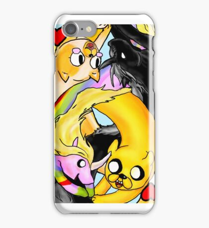 Adventure Time: Two of Hearts (Cake-side up) iPhone Case/Skin