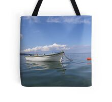 Floating In Blue & White Tote Bag