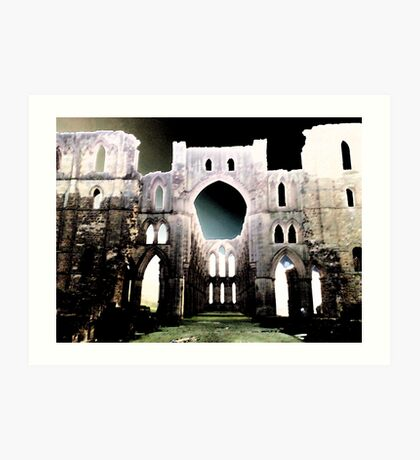 Abbey Art Print