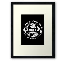 Vandelay Industries (white) Framed Print