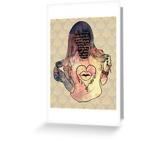 dance to this beat Greeting Card