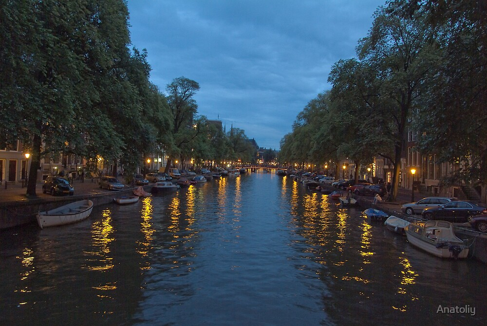 Canals of Amsterdam by Anatoliy