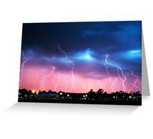 Lightning Storm Greeting Card