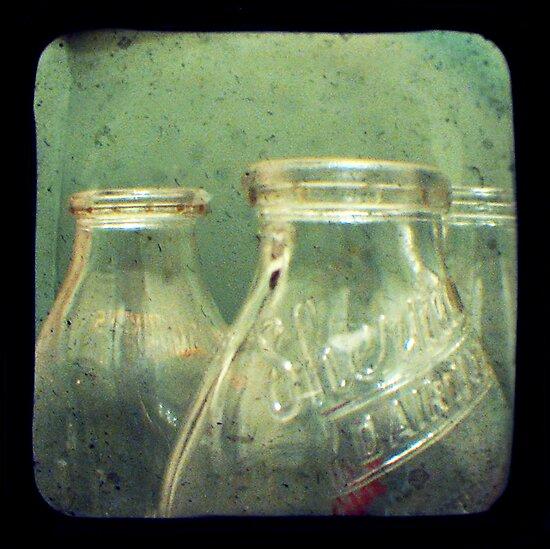 Milk Bottles by Dana DiPasquale