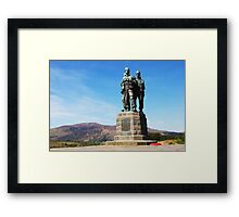 Commando Memorial Spean Bridge Framed Print