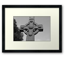Celtic Cross Gartan Donegal Ireland Framed Print