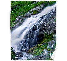 Middle Green Lake Falls Poster