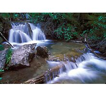 Glenwood Canyon Creek Cascade Photographic Print