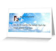 @natvanlis Greeting Card