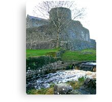 Castle in Athenry Ireland Canvas Print