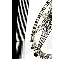 Southern Star Ferris Wheel, Docklands, Melbourne Photographic Print