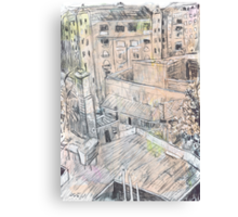 Potts Point Roofs Canvas Print