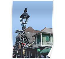 Bourbon Street, New Orleans Poster