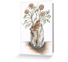 Delicate Butterfly Greeting Card