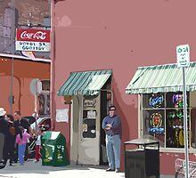 Royal Street Grocery, New Orleans by Celeste Brignac