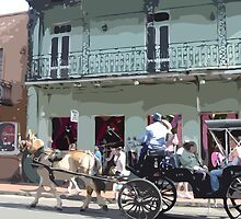 Through the Streets of New Orleans by Celeste Brignac