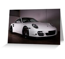 Porsche 911 Turbo Greeting Card