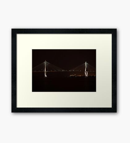 Suspension Night Framed Print